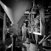 British Titan Products process the main pigment used in paint production titanium dioxide Photograph by Walter Nurnberg who transformed industrial...