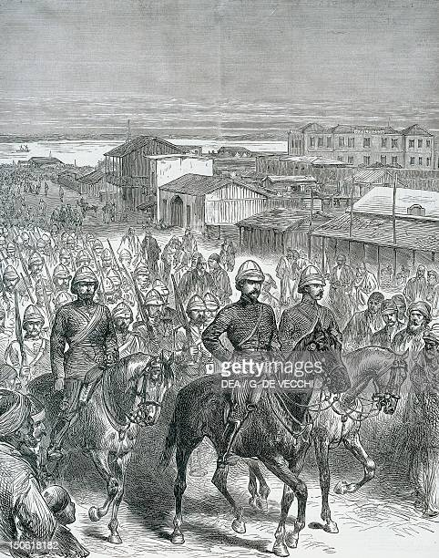 British troops occupy Ismailia in 1882 AngloEgyptian War Egypt 19th century