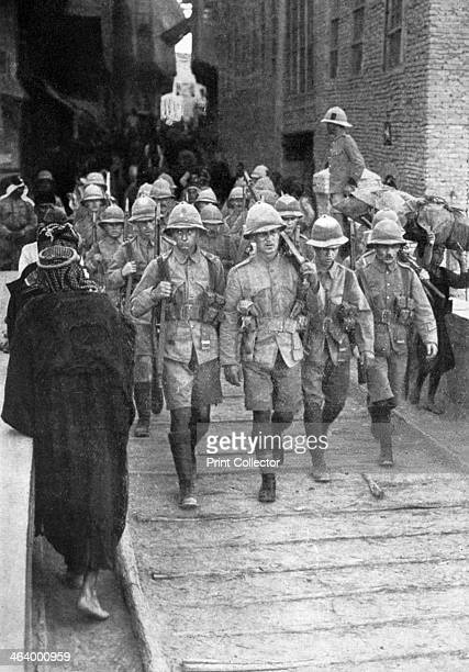 British troops on the way to Baghdad First World War The British under General Maude captured Baghdad in 1917 Then under the Ottoman Empire Baghdad...