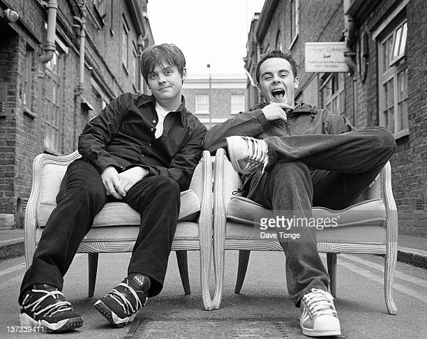 British TV presenters Ant and Dec Camden London April 1997 Left to right Declan Donnelly and Anthony McPartlin