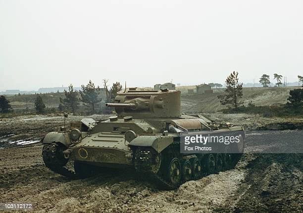 A British Valentine infantry tank circa 1940