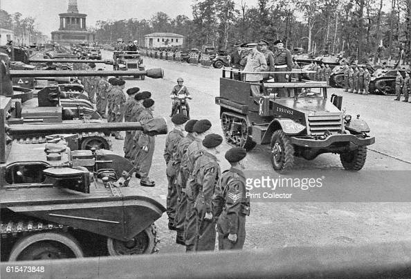 British Victory Parade in Berlin July 1945' 1945 Held by the Allies of World War II on 7 September 1945 in Berlin the parade was proposed by the...
