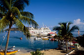 British Virgin Island Virgin Gorda Leverick Bay Cruise Ship Nantucket Clipper