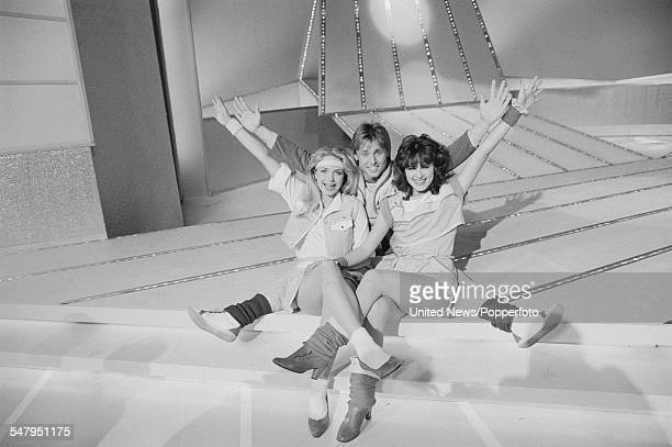 British vocal group and UK entry for the 1983 Eurovision Song Contest Sweet Dreams pictured on a television show on 24th March 1983 The group are...
