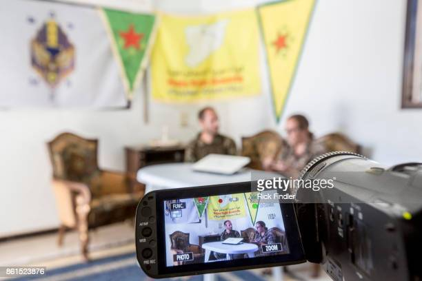 British volunteer fighters 'Macer Gifford' and 'Zilan' both from the UK broadcast their disbelief after reading a BBC article stating that any...