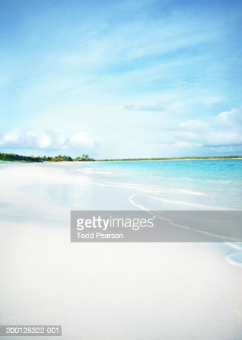 British West Indies, Anguilla, white sandy beach