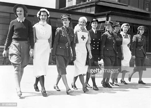 British Women Wear Ww Ii Army Uniforms Pictures | Getty Images