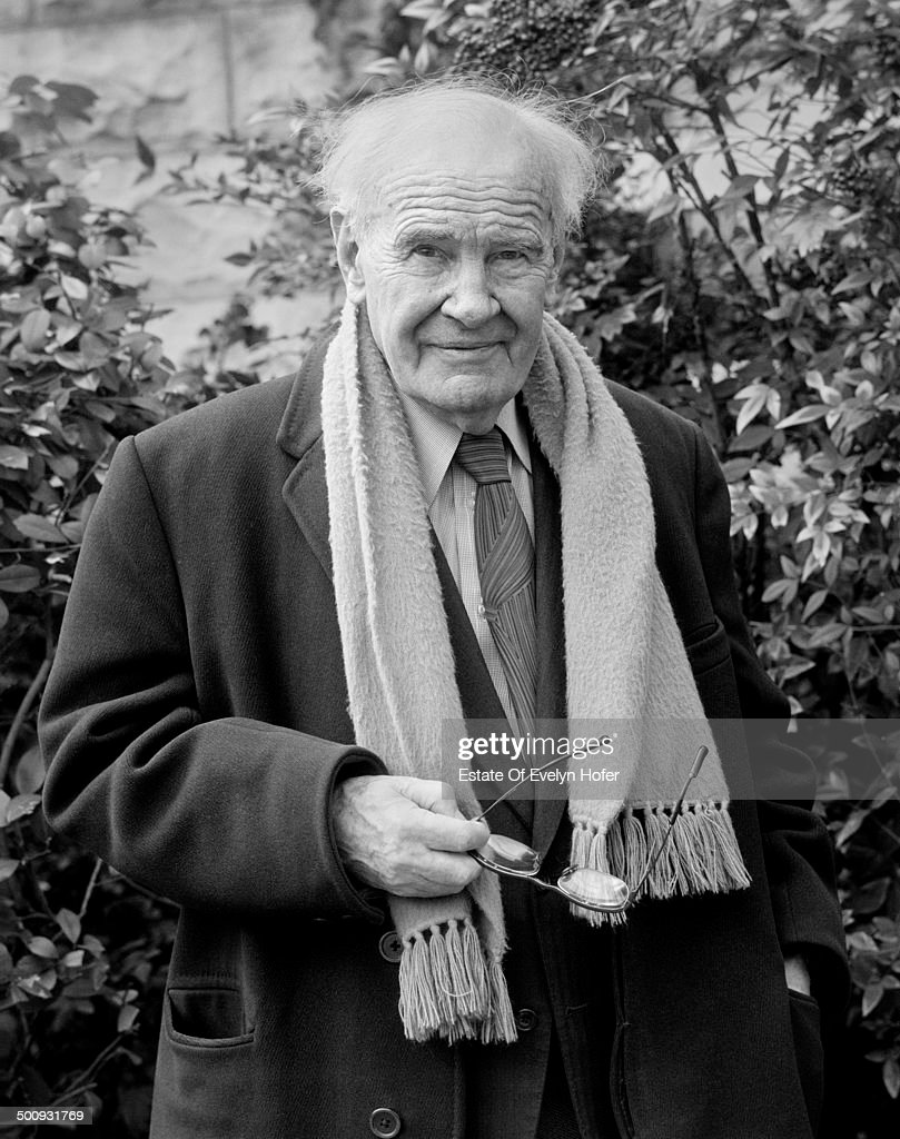 British writer and critic Sir Victor Sawdon Pritchett, aka V.S. Pritchett (1900 - 1997), London, 1977.