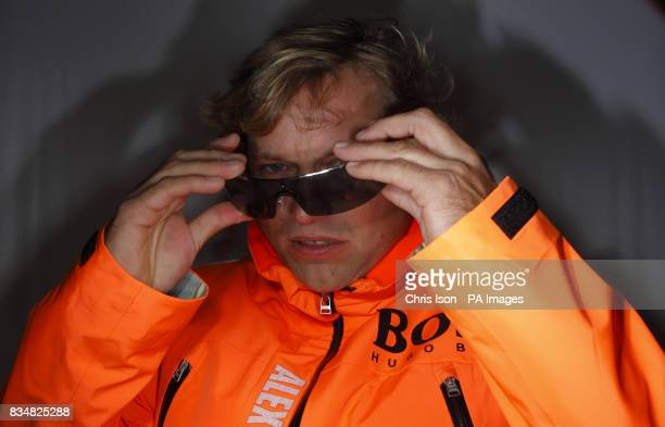 British yachtsman Alex Thomson who will compete in the gruelling Vendee Globe Race in November