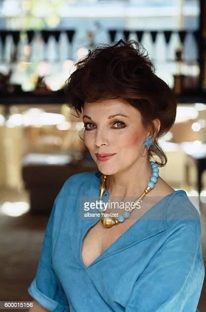 Britishborn actress Joan Collins