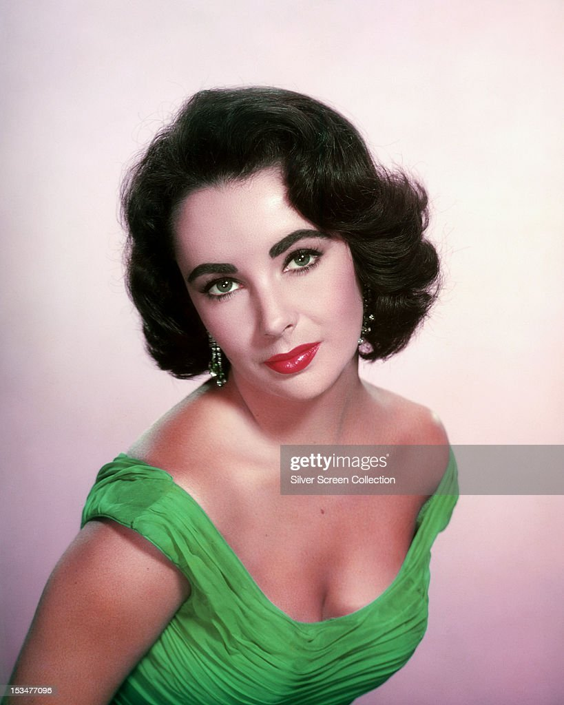 British-born American actress <a gi-track='captionPersonalityLinkClicked' href=/galleries/search?phrase=Elizabeth+Taylor&family=editorial&specificpeople=69995 ng-click='$event.stopPropagation()'>Elizabeth Taylor</a> (1932 - 2011), circa 1955.