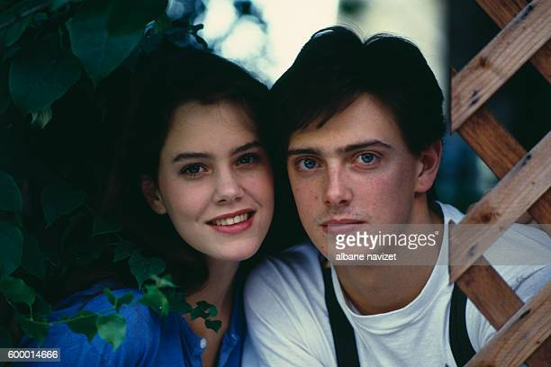 British-born American actress Ione Skye and her brother actor and musician Donovan Leitch, Jr.