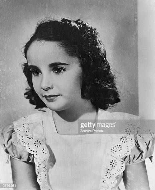 Britishborn child actor Elizabeth Taylor arrives in America at the age of seven