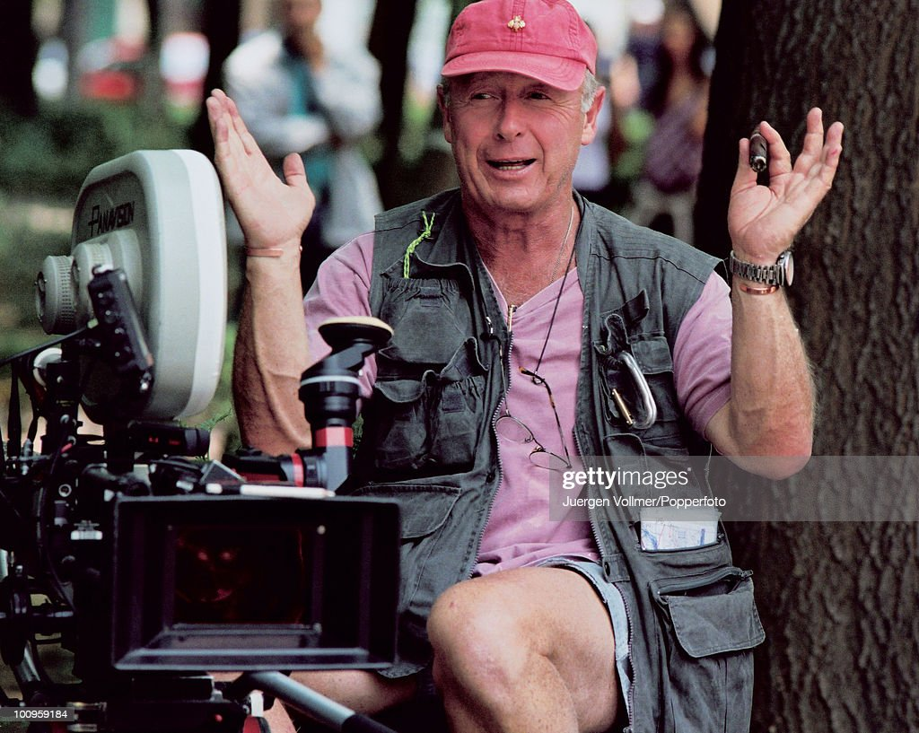 Britishborn director Tony Scott on the set of his film 'Man On Fire' in Mexico City 2003