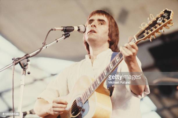 BritishIrish singersongwriter Chris De Burgh performs at the Dr Pepper Central Park Music Festival at Wollman Rink in Central Park New York City June...