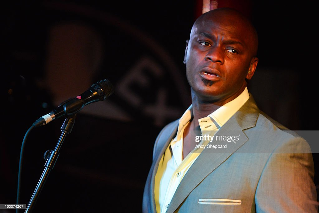 British-Nigerian singer <a gi-track='captionPersonalityLinkClicked' href=/galleries/search?phrase=Ola+Onabule&family=editorial&specificpeople=6584306 ng-click='$event.stopPropagation()'>Ola Onabule</a> performs on stage at Pizza Express Jazz Club on January 25, 2013 in London, England.