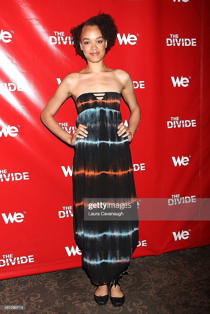 Britne Oldford attends 'The Divide' series premiere at Dolby 88 Theater on June 26, 2014 in New York City.
