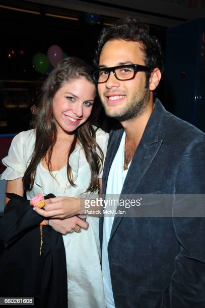 Britney Friedlander and Aaron Grossbard attend ASSOCIATION to BENEFIT CHILDREN hosts COCKTAILS IN CANDYLAND at Dylan's Candy Bar on June 18 2009 in...