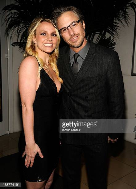 Britney Spears and Jason Trawick attend Clive Davis And The Recording Academy's 2012 PreGRAMMY Gala And Salute To Industry Icons Honoring Richard...