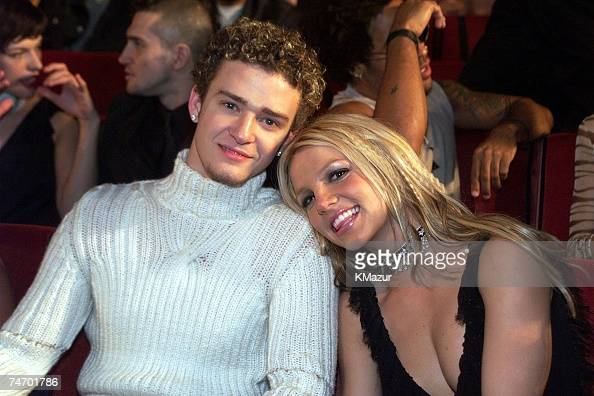 Britney Spears and Justin Timberlake at the Radio City Music Hall in New York City New York