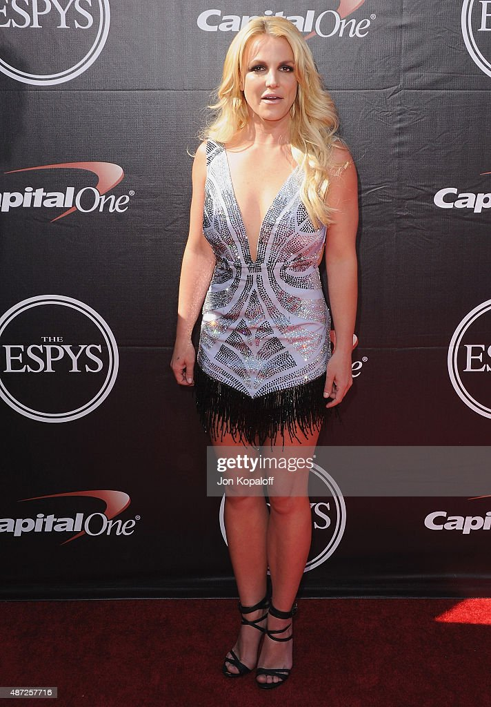 Britney Spears arrives at The 2015 ESPYS at Microsoft Theater on July 15, 2015 in Los Angeles, California.