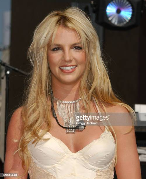 Britney Spears at the Hollywood Highland in Hollywood California