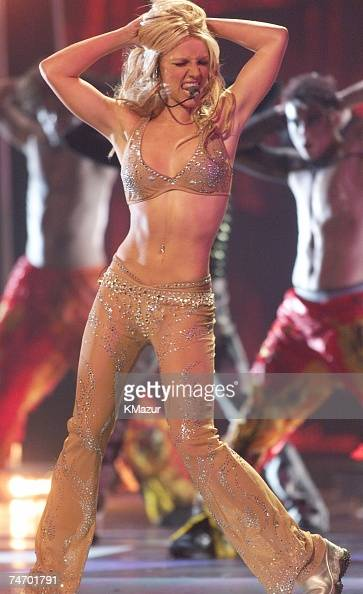Britney Spears at the Radio City Music Hall in New York City New York