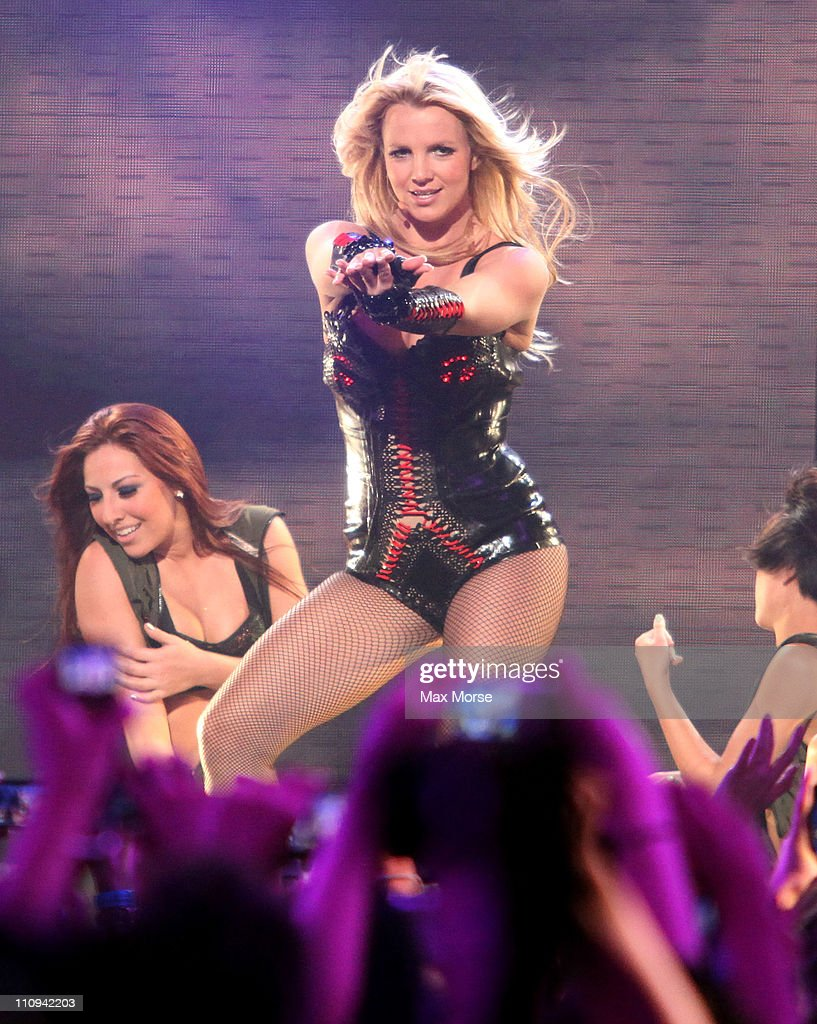Britney Spears attends 'Good Morning America's' Taping Performance At Bill Graham Civic Auditorium on March 27, 2011 in San Francisco, California.