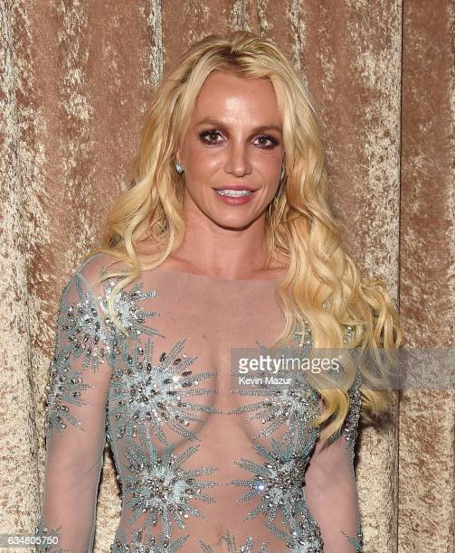 Britney Spears attends PreGRAMMY Gala and Salute to Industry Icons Honoring Debra Lee at The Beverly Hilton on February 11 2017 in Los Angeles...