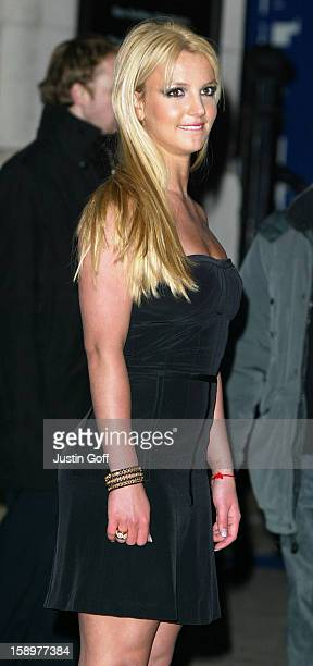 Britney Spears Attends The Premiere Of The New Pepsi Gladiator Tv Commercial At London'S National Gallery