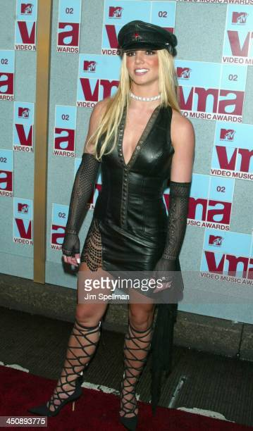 Britney Spears during 2002 MTV Video Music Awards Arrivals at Radio City Music Hall in New York City New York United States