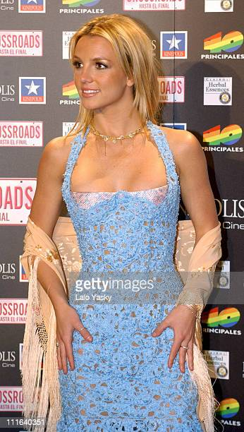 Britney Spears during 'Crossroads' Premiere in Madrid at Kinepolis Theater Madrid in Madrid Spain