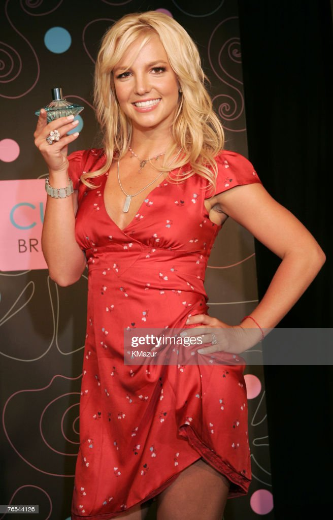 Britney Spears Introducing Her New Fragrance