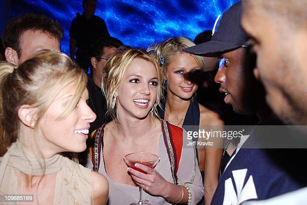 Britney Spears Paris Hilton and Sean P Diddy Coombs