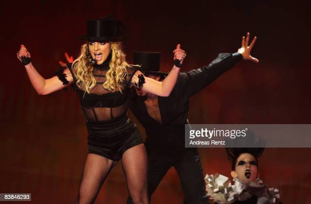 Britney Spears performs at the Bambi Awards 2008 Show on November 27 2008 in Offenburg Germany