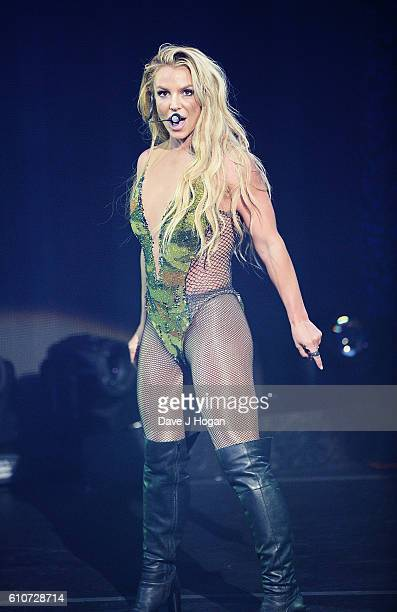Britney Spears performs during Apple Music Festival at The Roundhouse on September 27 2016 in London England