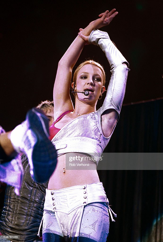 Britney Spears performs on stage at Gelredome Arnhem Netherlands 4th November 2000