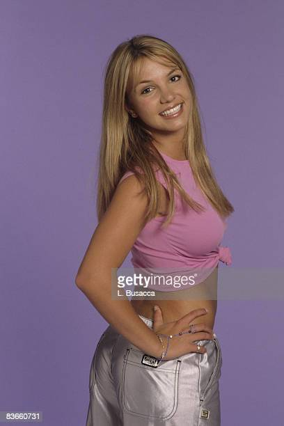 Britney Spears poses during a portrait session on May 1 1999 in Los Angeles California