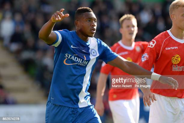 Britt Assombalonga Peterborough United