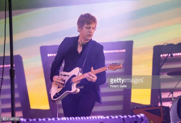 Britt Daniel of Spoon performs during 2017 Panorama Music Festival Day 1 at Randall's Island on July 28 2017 in New York City