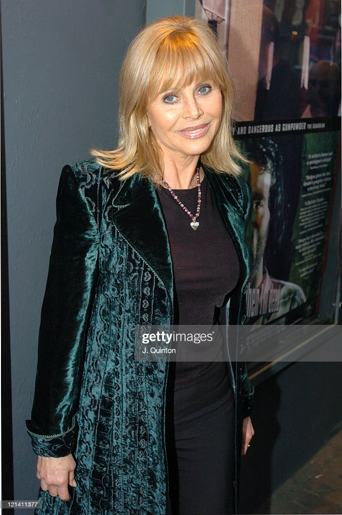 Britt Ekland during 'I'll Sleep When I'm Dead' - London Premiere at Screen On The Green, Islington in London, Great Britain.