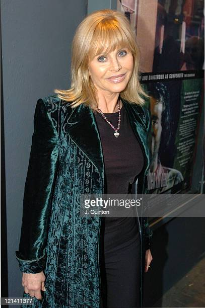 Britt Ekland during 'I'll Sleep When I'm Dead' London Premiere at Screen On The Green Islington in London Great Britain