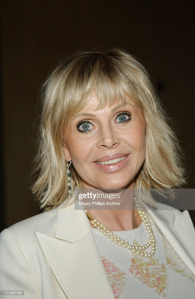 Britt Ekland during Junior Blind and The American Foundation for The Blind Present an International Symposium - Reception at Beverly Hilton Hotel in Beverly Hills, California, United States.