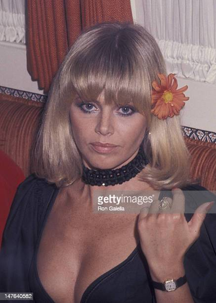 Britt Ekland sighted on April 7 1977 at Carlos and Charlie's in Beverly Hills California