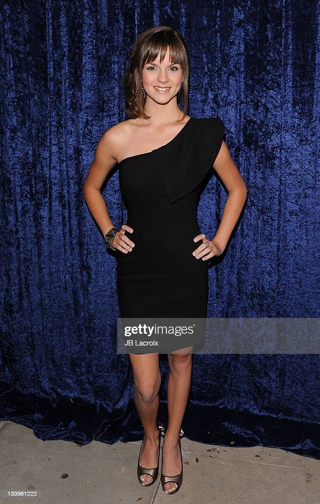 Britt Flatmo arrives to Paramount Pictures' 'Super 8' Blu-ray and DVD release party at AMPAS Samuel Goldwyn Theater on November 22, 2011 in Beverly Hills, California.