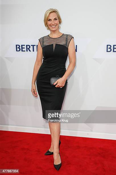 Britt Hagedorn attends the Bertelsmann Summer Party on June 18 2015 in Berlin Germany