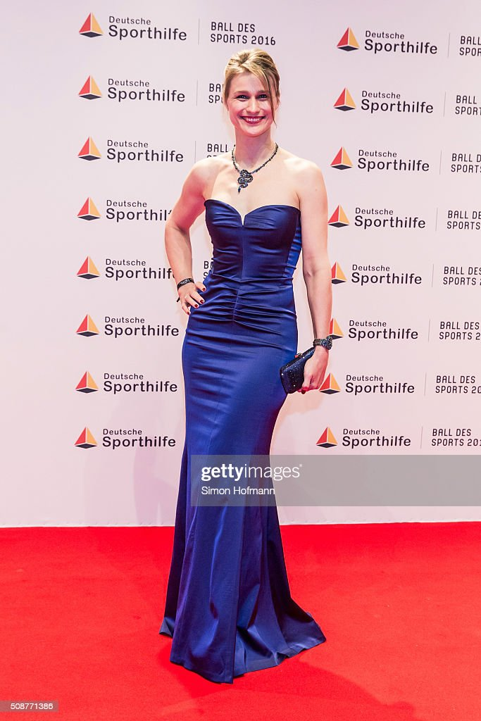<a gi-track='captionPersonalityLinkClicked' href=/galleries/search?phrase=Britta+Heidemann&family=editorial&specificpeople=2206865 ng-click='$event.stopPropagation()'>Britta Heidemann</a> attends German Sports Gala 'Ball des Sports 2016' on February 6, 2016 in Wiesbaden, Germany.