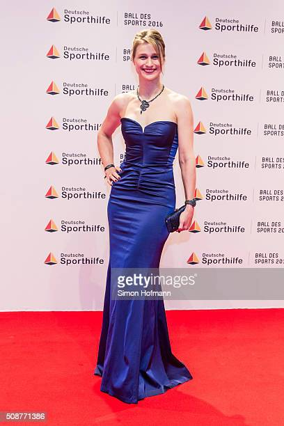 Britta Heidemann attends German Sports Gala 'Ball des Sports 2016' on February 6 2016 in Wiesbaden Germany