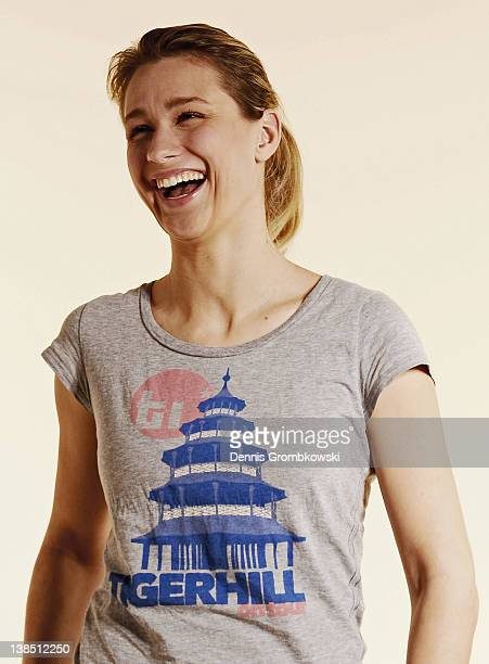 Britta Heidemann of Germany poses during a portrait session on January 6 2012 in Cologne Germany