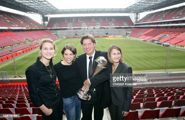 Britta Heidemann olympic fencing champion Annike Krahn football national player Toni Schumacher football world and European champion and womens...